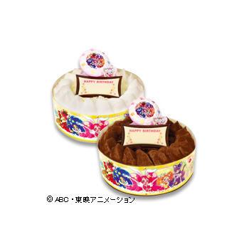 キャラデコお祝いケーキ キラキラ☆プリキュアアラモード <br />(チョコレート)/(ホワイトチョコレート)