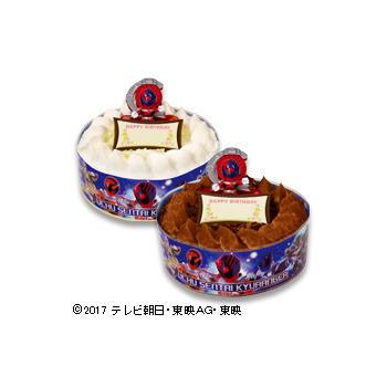 キャラデコお祝いケーキ  宇宙戦隊キュウレンジャー <br />(チョコレート)/(ホワイトチョコレート)