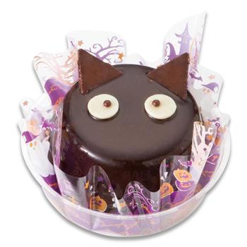 黒猫のチョコレートムース