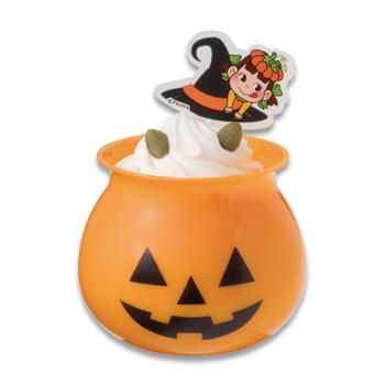オバケかぼちゃのパンプキンプリン