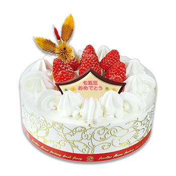 七五三苺のショートケーキ(SS・S・M・L)