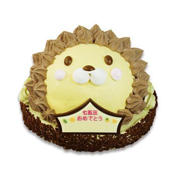 ライオンくんケーキ