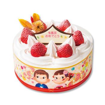 七五三ショートケーキ(フルーツサンド)