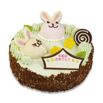 うさぎちゃんケーキ