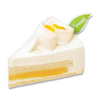 瀬戸内レモンのレアチーズケーキ
