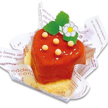 苺みたいなケーキ