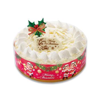 クリスマスホワイトチョコ生ケーキ(S・M)