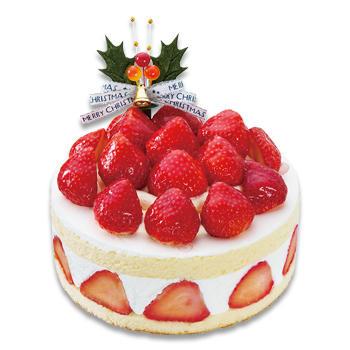 クリスマス あまおう苺たっぷりの贅沢ショートケーキ