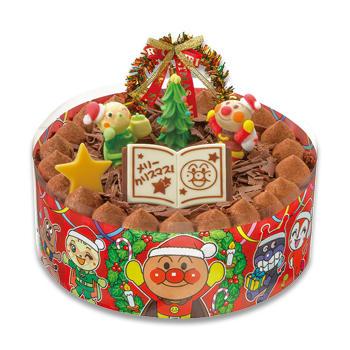 それいけ!アンパンマンケーキ(メリークリスマス)