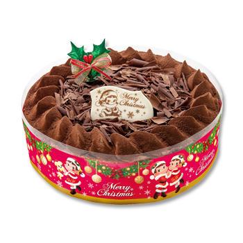 クリスマスチョコ生ケーキ(S・M・L)