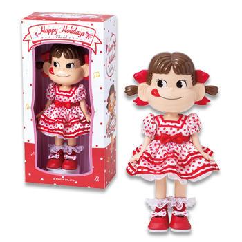 ハッピーホリデー ペコちゃん人形