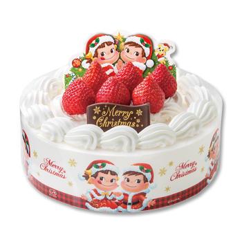 クリスマスショートケーキ(フルーツサンド)(SS・S・M・L)