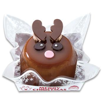 クリスマストナカイさんケーキ