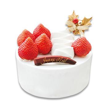 あまおう苺のクリスマスショートケーキ