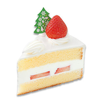 あまおう苺 のクリスマスショートケーキ(小物)