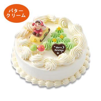 クリスマスデコレーション ケーキ(アプリコット)