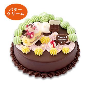 クリスマスデコレーションケーキ(チョコ)