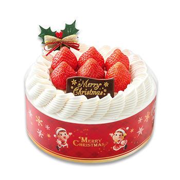 クリスマス苺のスペシャルショートケーキ(SS・S・M)