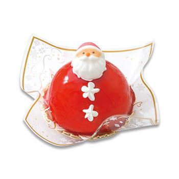 クリスマスサンタさんケーキ
