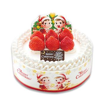 クリスマスショートケーキ (フルーツサンド)(SS・S・M・L)