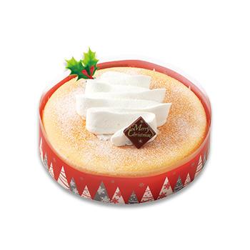 クリスマススフレチーズケーキ