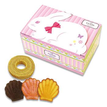 焼菓子BOX(うさぎ)(10個入)