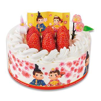 ひなまつり苺のショートケーキ(SS・S・M)