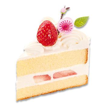 ひな苺のショートケーキ