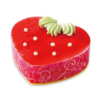 真っ赤なストロベリーケーキ(L)