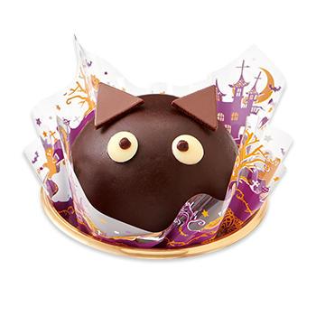 黒猫のチョコレートケーキ