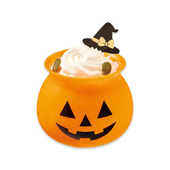 オバケかぼちゃの焼きプリン