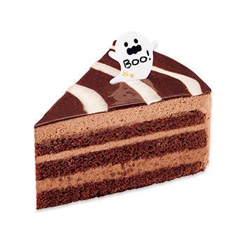 ハロウィンザクザクチョコケーキ