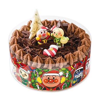 それいけ! アンパンマンチョコケーキ (クリスマスパーティ)