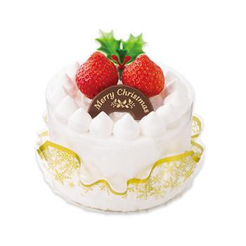 クリスマス苺のミニショートケーキ