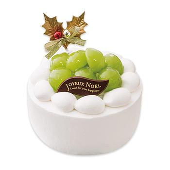 シャインマスカットのプレミアムクリスマスケーキ