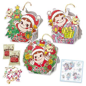 ペコちゃんサンタのクリスマスオーナメント