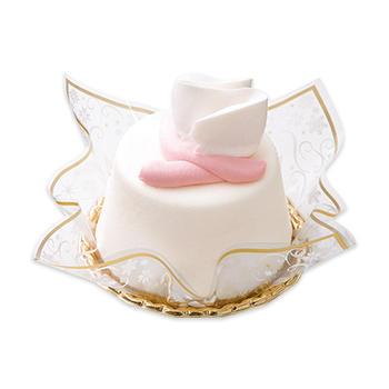 サンタのプレゼントケーキ