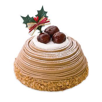 贅沢クリスマスモンブラン