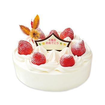 七五三ショートケーキ(フルーツサンド)(S・M・L)