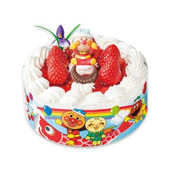こどもの日 それいけ!アンパンマンショートケーキ