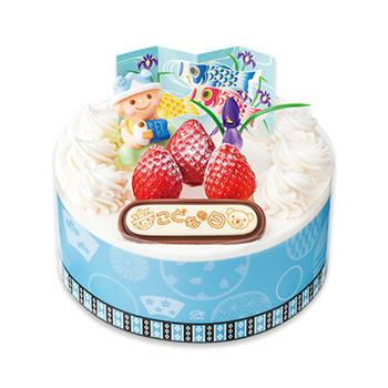 元気いっぱい!こどもの日ショートケーキ