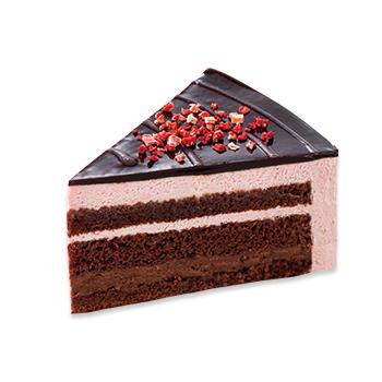苺のザクザクチョコケーキ
