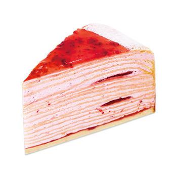 あまおう苺のミルクレープ