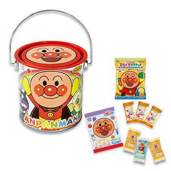 アンパンマンわくわくバケツ缶