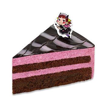 ベリーのザクザクチョコケーキ
