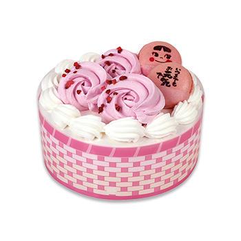 バラ香るありがとうケーキ