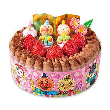 それいけ!アンパンマンチョコショートケーキ(ひなまつり)