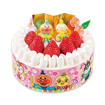 それいけ!アンパンマンショートケーキ(ひなまつり)