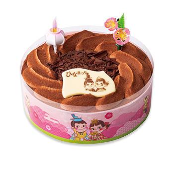 ひなまつりチョコ生ケーキ(S・M)