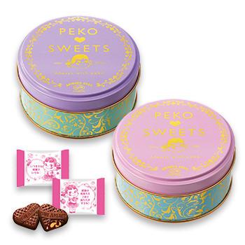 ペコちゃんチョコレート缶